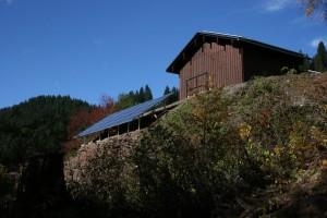 Photovoltaikanlage am Kristberg mit 21,5 kWp Leistung. Ein echter Umweltbeitrag für die einmalige Naturlandschaft am Kristberg im Silbertal in Vorarlberg - Österreich