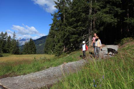 Silberpfad am Kristberg im Montafon