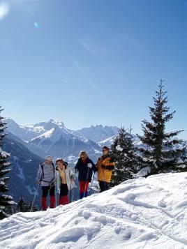 Traumhafte Schneeschuh-Routen im Montafon