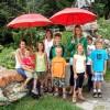 Kinder von der Familie Zudrell
