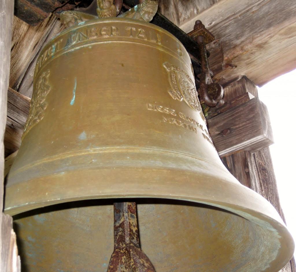 Glocke von der St. Agatha Kapelle am Kristberg in Vorarlberg