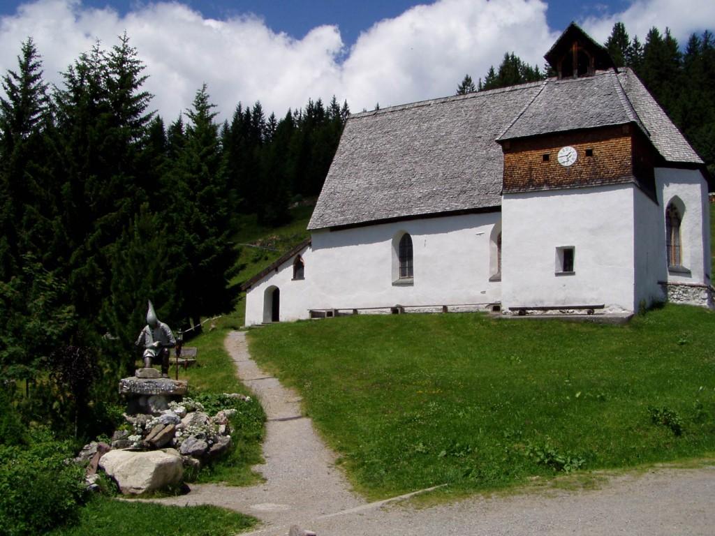 St. Agatha Kapelle am Kristberg in Vorarlberg